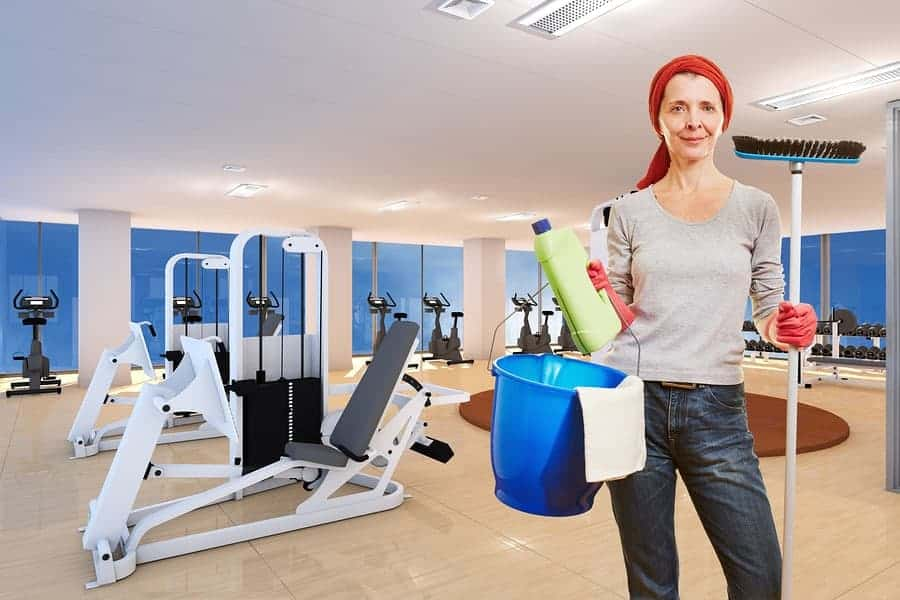 Fitness Gyms Cleaning Services