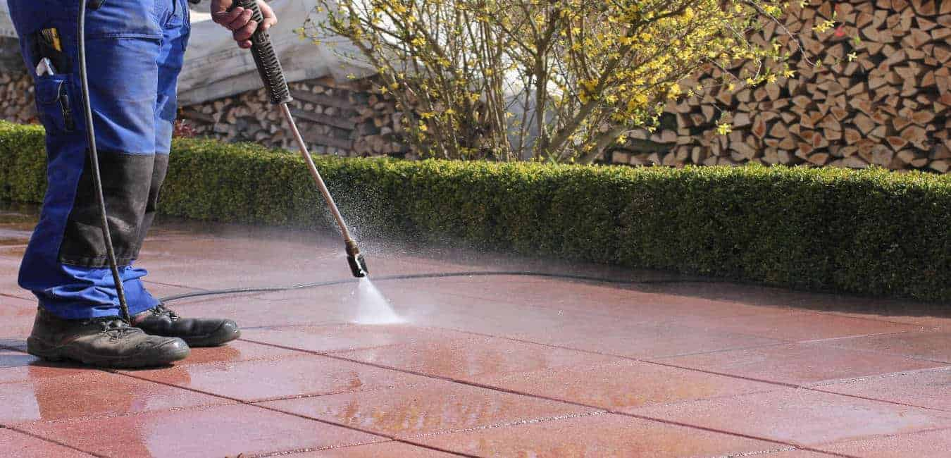 High-Pressure Water Cleaning Services
