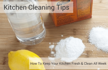 Kitchen Cleaning Tip