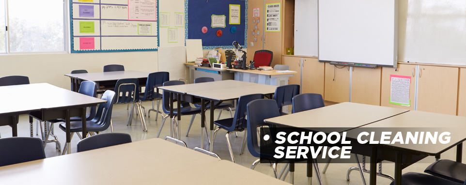 School Cleaning Services Montreal