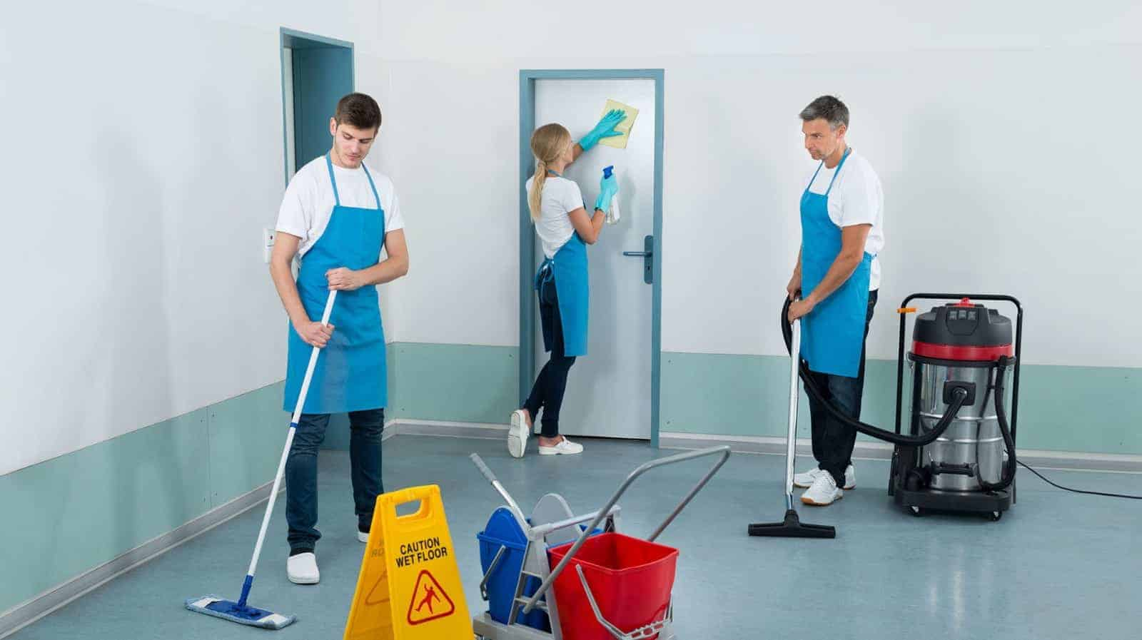 Qualified Cleaning Services Staff