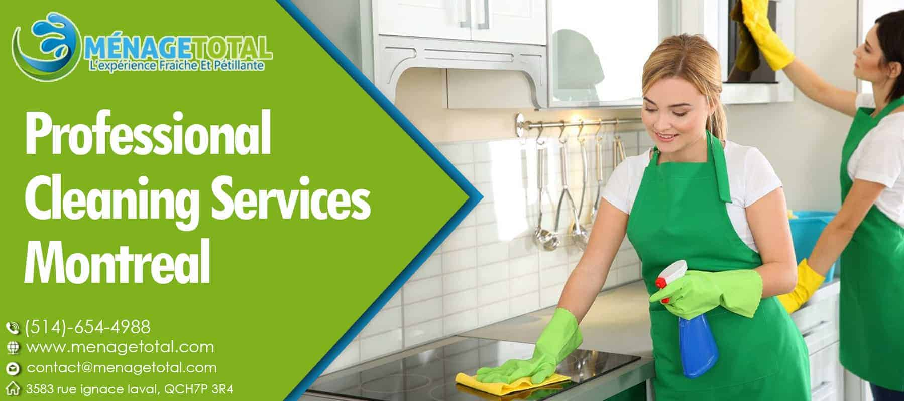 Our Cleaning Service Montreal
