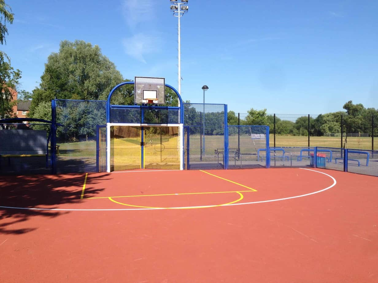 Basketball Ground Cleaning
