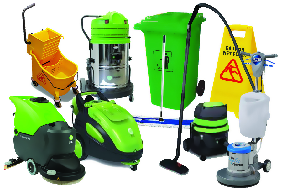 Equipment in Green Cleaning