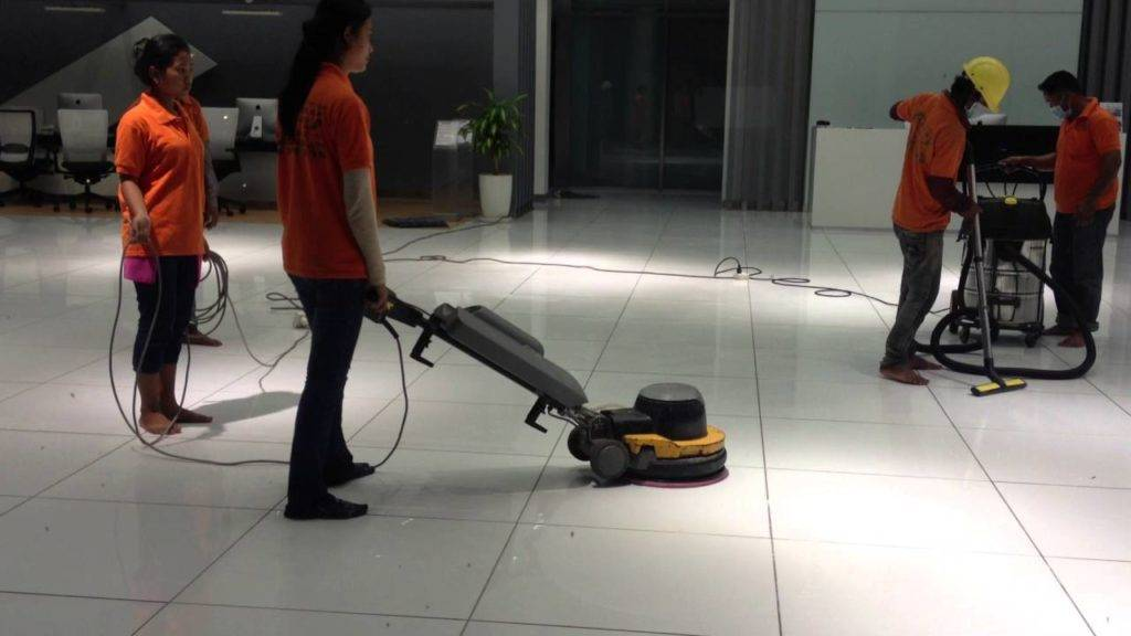 professional Floor cleaning service