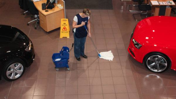 Car Showroom Cleaning