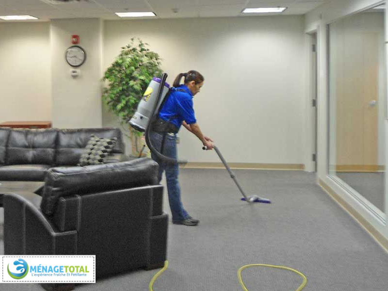 Company office cleaning