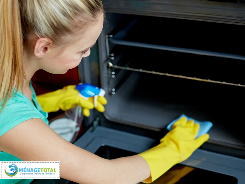 Easy Oven Cleaning