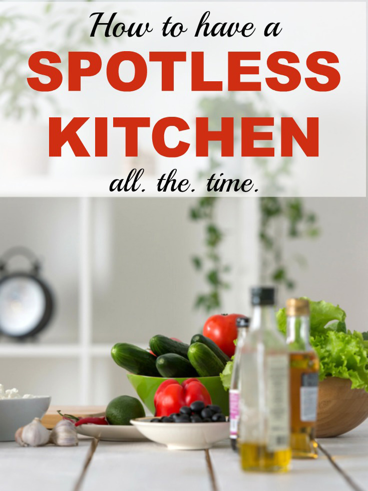 Kitchen Cleaning Easy Tips