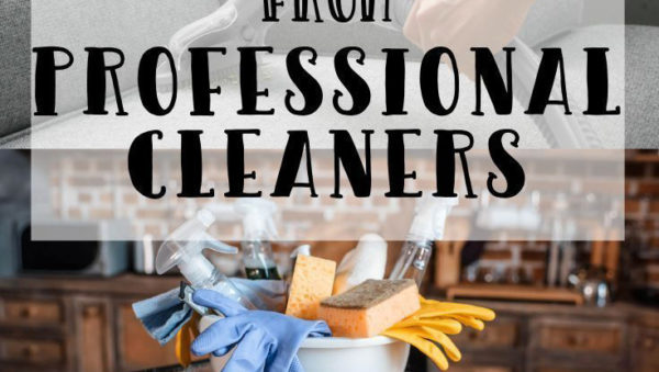 Professional Cleaning Tips