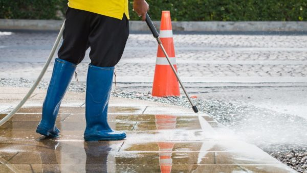 Fast and Reliable Parking Pressure Washing Service