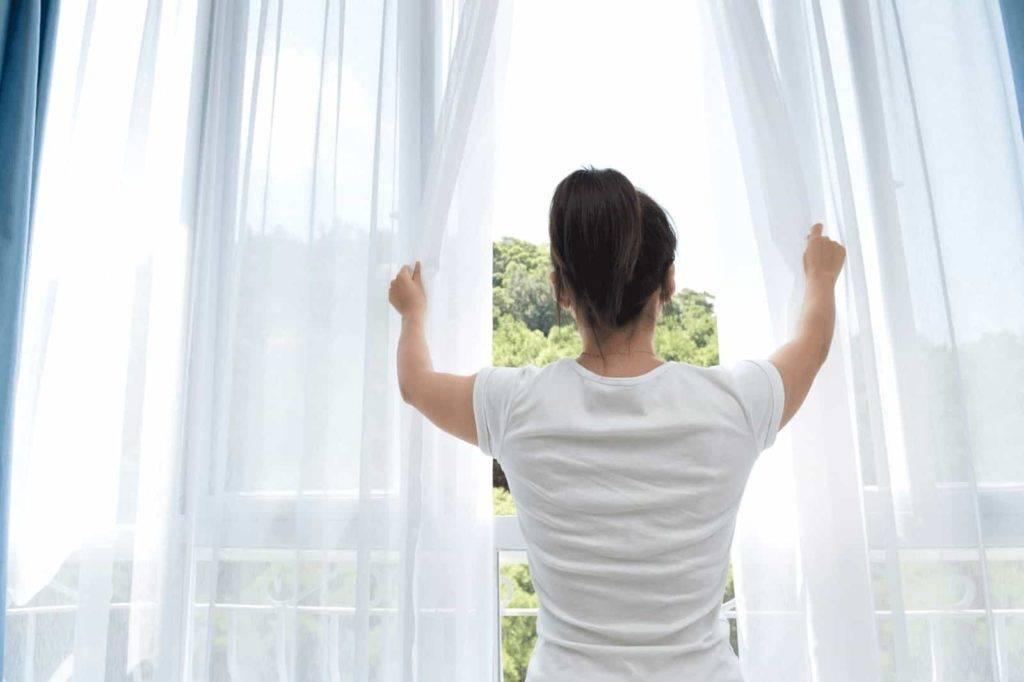 Curtain fresh air