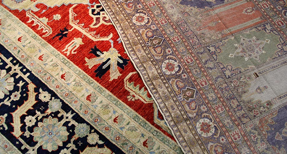 Oriental, Persian and Turkish rugs