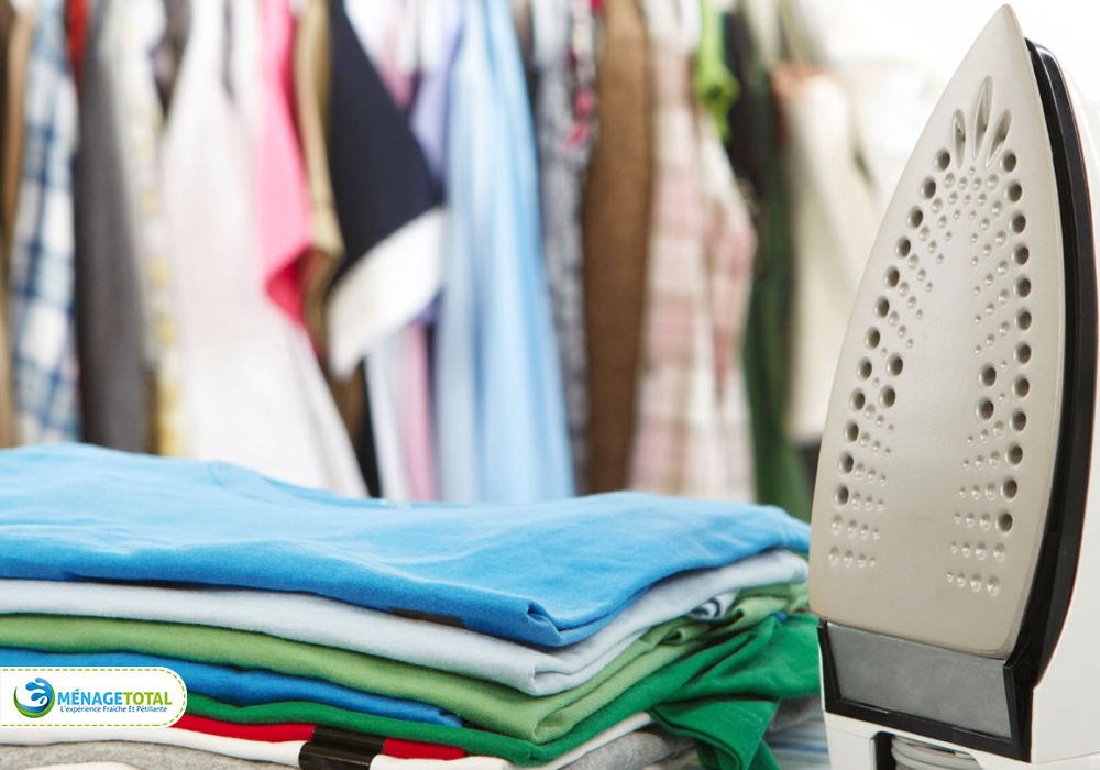 Washing, drying, and ironing works