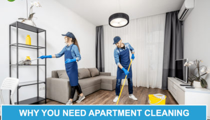 Why You Need Apartment Cleaning Services