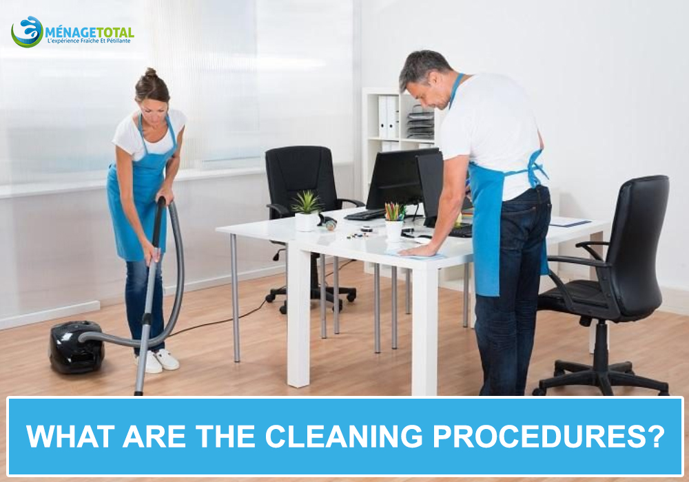 What are the cleaning procedures