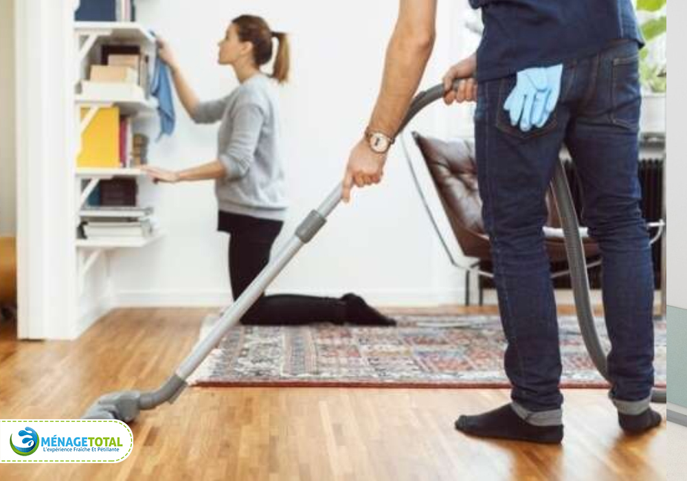 daily dusting and mopping