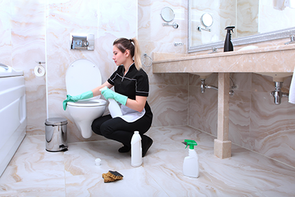 BATHROOM CLEANING SERVICES: